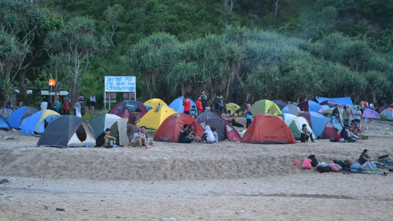 Camping Pantai Wediombo
