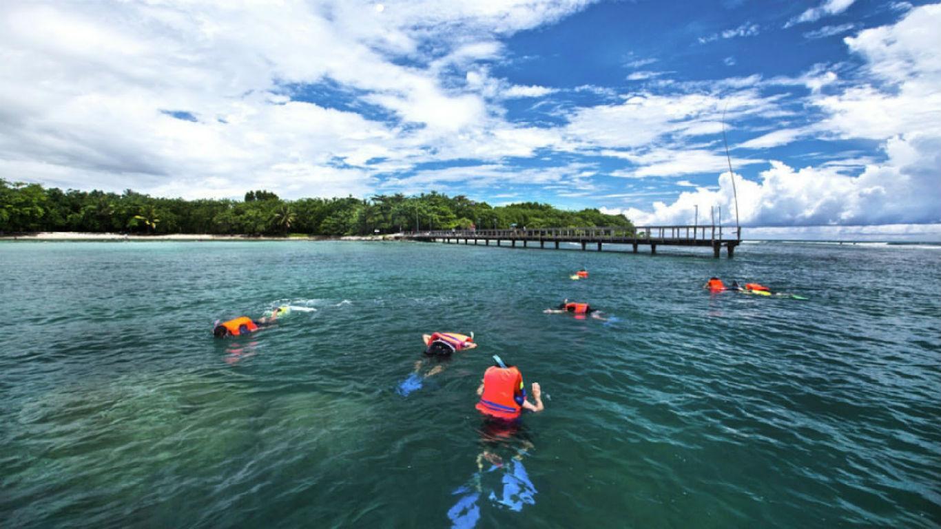 Snorkeling Pantai Tanjung Lesung