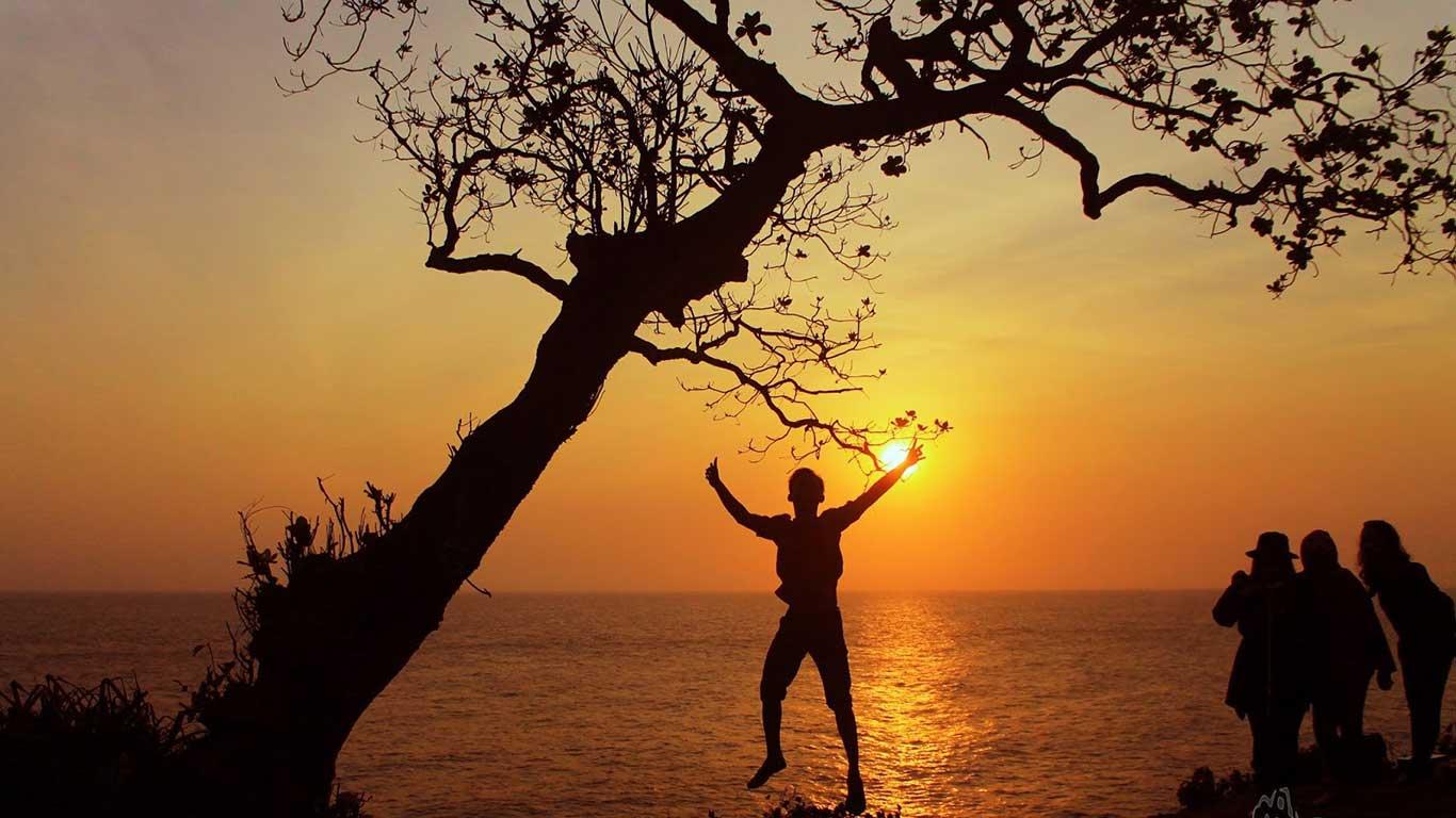 Sunset Pantai Kesirat