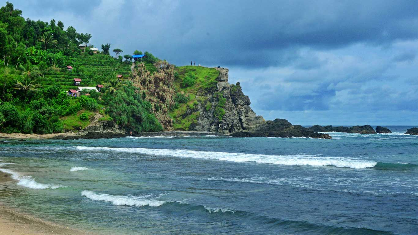 Tebing Pantai Siung