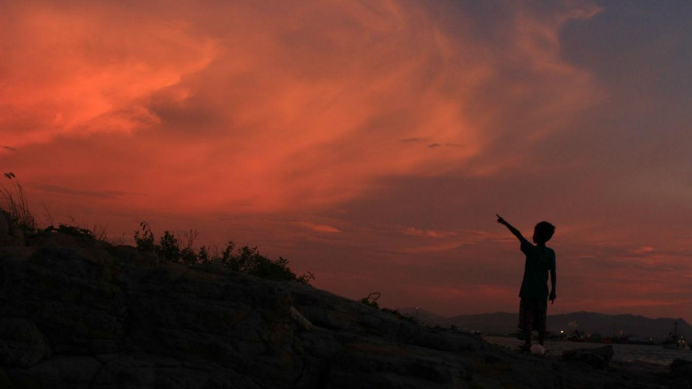 Sunset Pantai Mabak