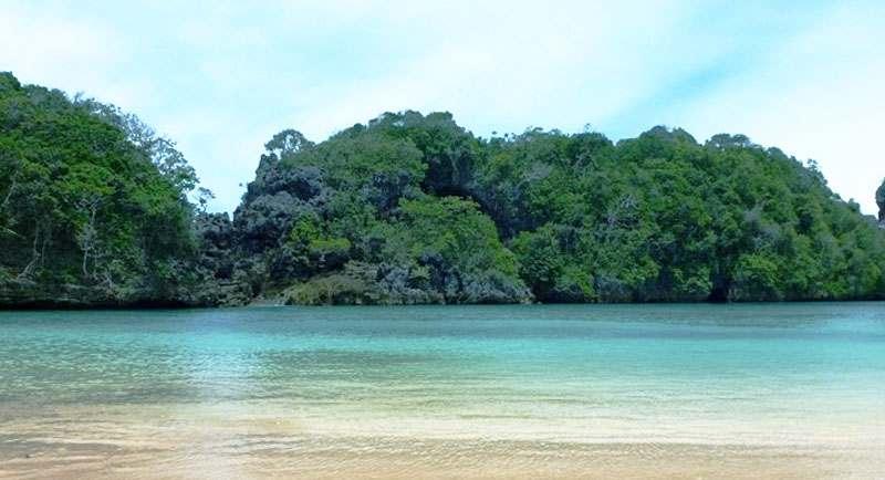 Pulau Sempu Di Pantai Sendang Biru