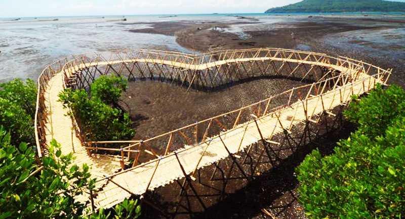Spot Photo Pantai Cemara Banyuwangi